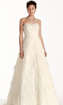 David's Bridal Spring 2016 Oleg Cassini CWG699 #10