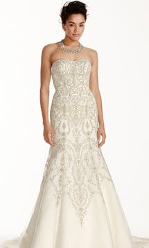 David's Bridal Spring 2016 Oleg Cassini CWG706 #14