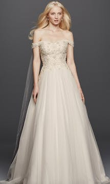 David's Bridal Spring 2016 Oleg Cassini CWG729 #17