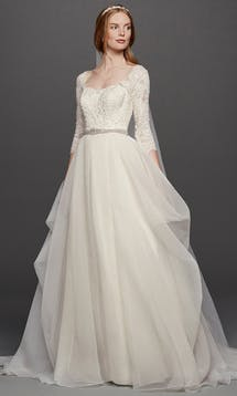 David's Bridal Spring 2016 Oleg Cassini CWG731 #19