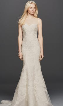 David's Bridal Spring 2016 Oleg Cassini CWG736 #24