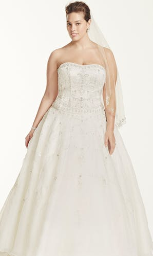 David's Bridal 2016 Oleg Cassini Woman 8CT258