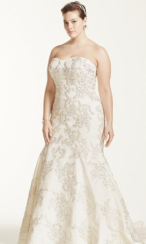 David's Bridal 2016 Oleg Cassini Woman 8CWG594