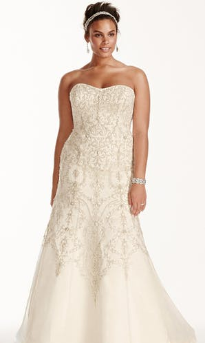 David's Bridal 2016 Oleg Cassini Woman 8CWG706