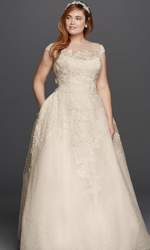 David's Bridal 2016 Oleg Cassini Woman 8CWG730