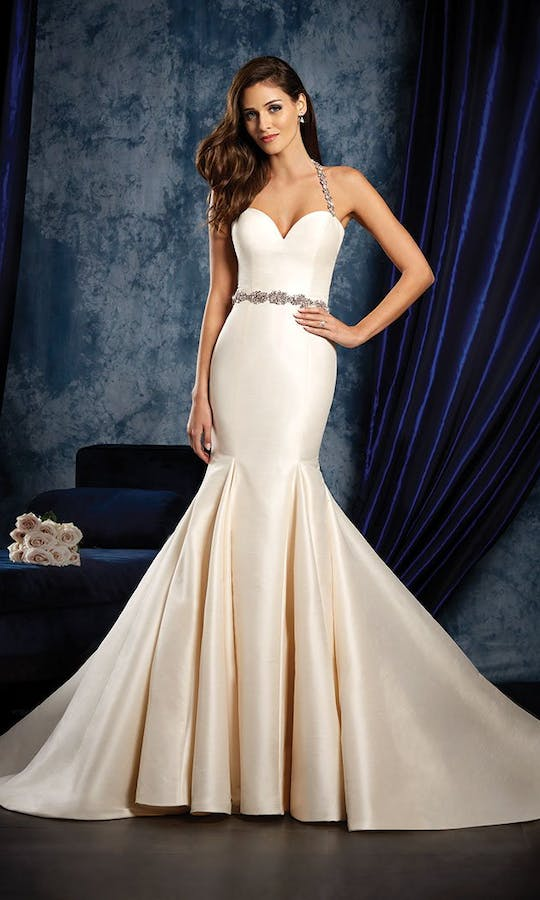 965 Wedding Dress Alfred Angelo Sapphire Bridal Collection Spring