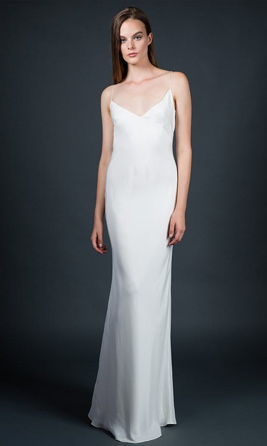 1774d010df36b Narrow Slip wedding dress - Sarah Janks: All the Stars - Confetti.co.uk
