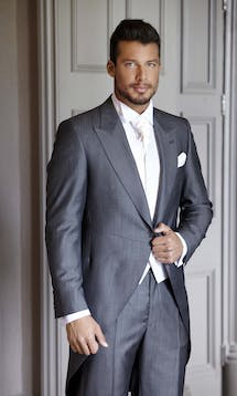 Slaters Men's Wedding & Morning Suit Hire Morning Suit #4