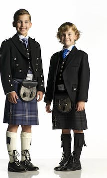 Slaters Boys Kilt Hire Argyll Jacket #1