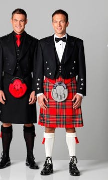 Slaters Men's Kilt Hire Spirit Tartan #2