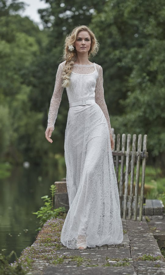 Stephanie Allin Couture Love Letters Anna Lace Over Dress