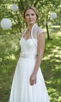 Stephanie Allin Couture Bridal Shrugs Harmony Shrug #4