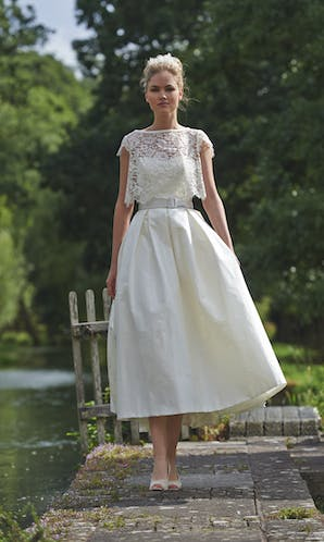 Stephanie Allin Couture Love Letters Symphony with Capri Shrug