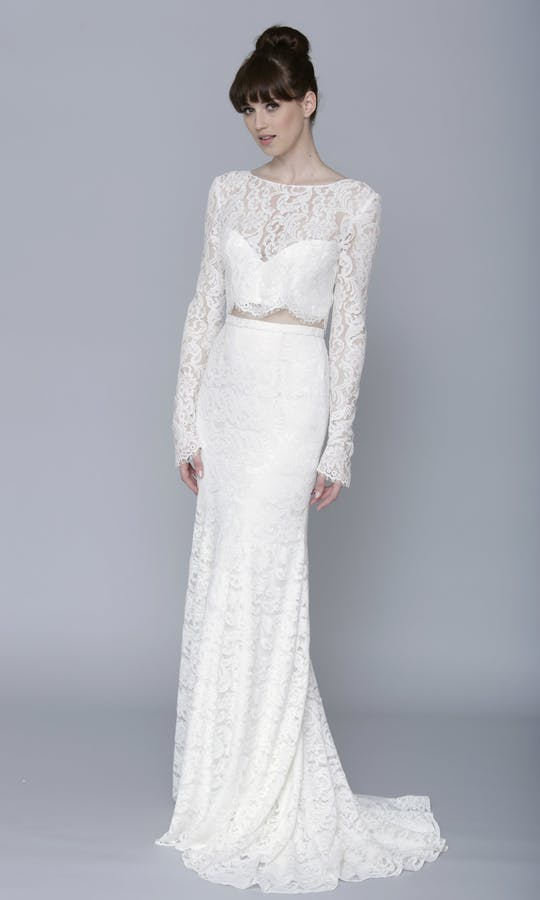 Theia Couture Spring 2016 Ada Bridal Top 890253