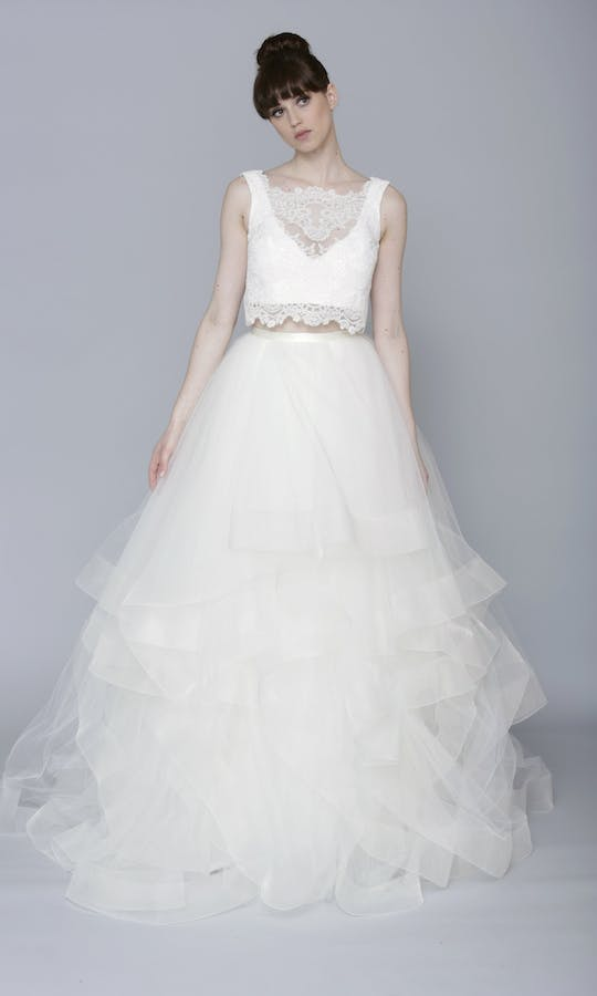 Theia Couture Spring 2016 Lilly Bridal Skirt: 890251