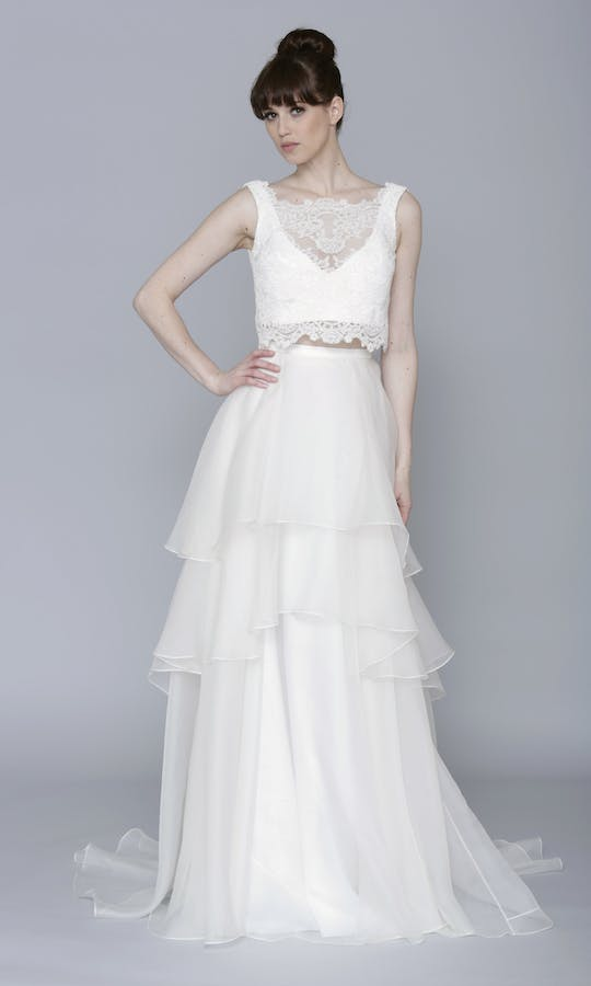 Theia Couture Spring 2016 Leah Bridal Top: 890246