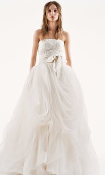 David's Bridal Spring 2016 Vera Wang VW351077 #2