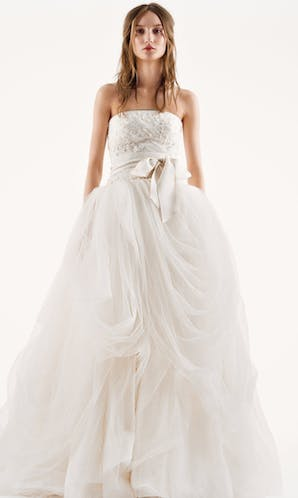 David's Bridal Spring 2016 Vera Wang VW351077