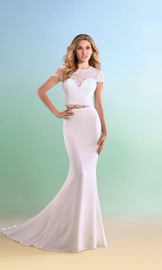 602 Wedding Dress Alfred Angelo Bridal Collection Truly Yours