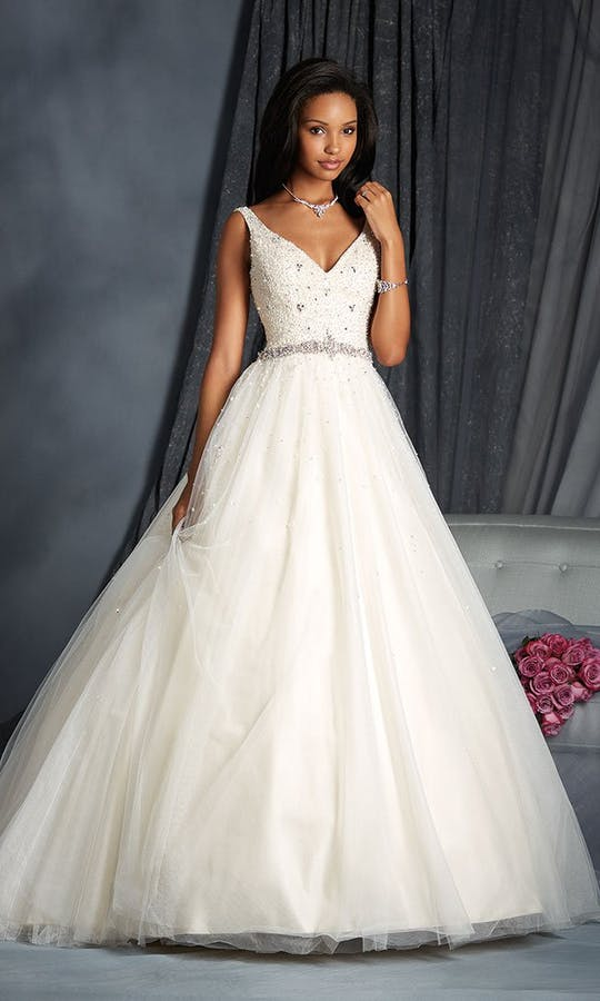 2572 Wedding Dress Alfred Angelo Bridal Collection Spring
