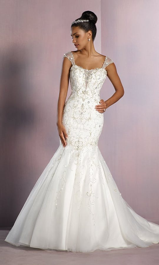 Tiana Fairy Tale Wedding Dress in Ivory wedding dress - Alfred ...