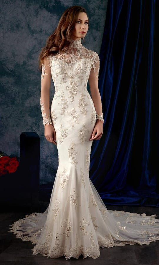 980 Wedding Dress Alfred Angelo Sapphire Bridal Collection Fall