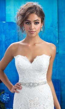 Allure Bridals Bridal Belts S130 #22