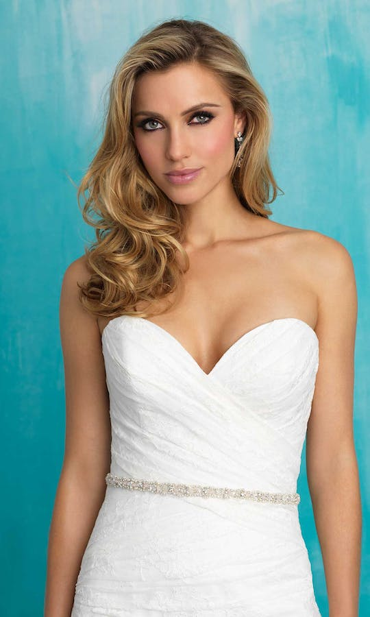 Allure Bridals Bridal Belts S118