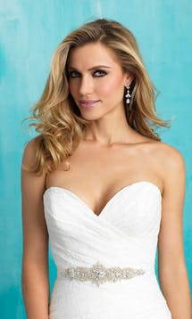 Allure Bridals Bridal Belts S119 #12