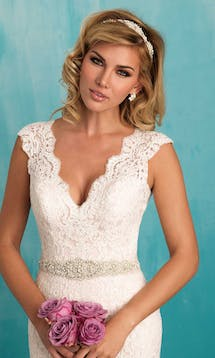 Allure Bridals Bridal Belts S106 #1