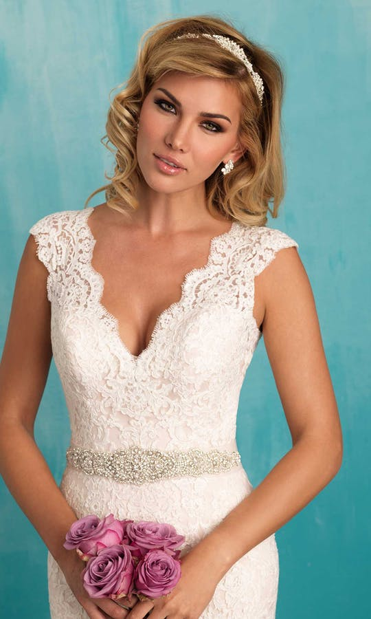 Allure Bridals Bridal Belts S106
