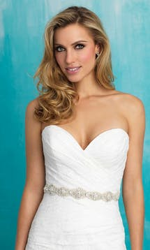 Allure Bridals Bridal Belts S107 #2