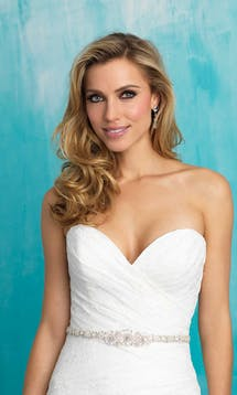 Allure Bridals Bridal Belts S108 #3
