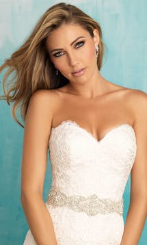 Allure Bridals Bridal Belts S109 #4