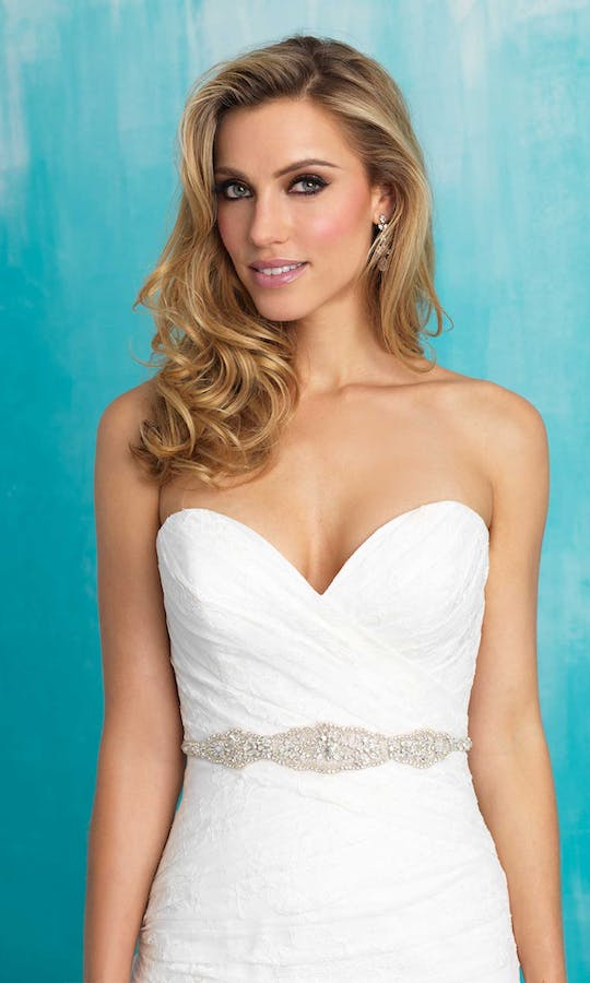 Allure Bridals Bridal Belts S110