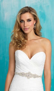 Allure Bridals Bridal Belts S113 #8