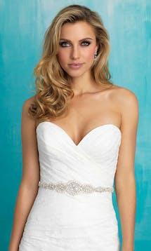 Allure Bridals Bridal Belts S114 #9