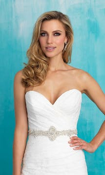 Allure Bridals Bridal Belts S117 #11
