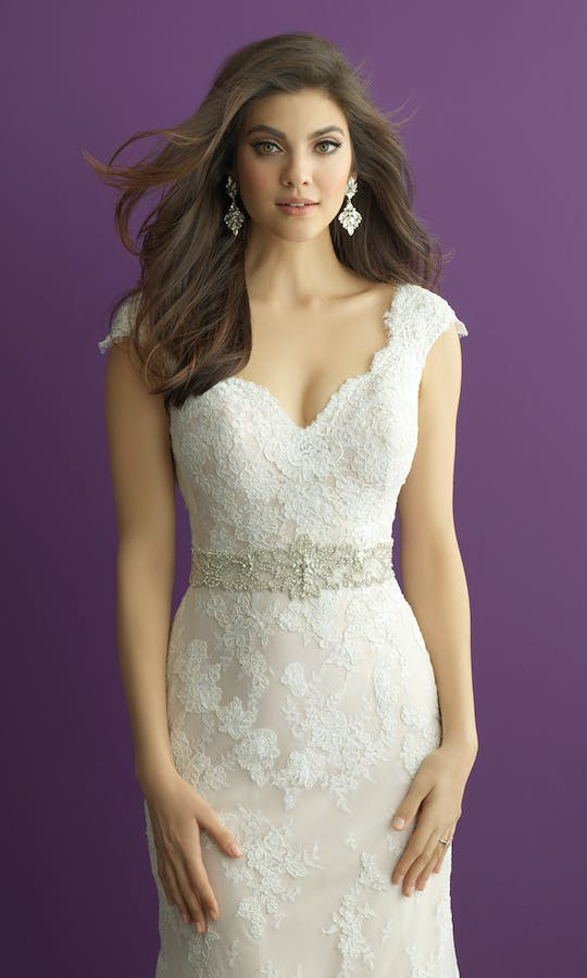 Allure Bridals Bridal Belts S122