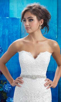 Allure Bridals Bridal Belts S128 #20