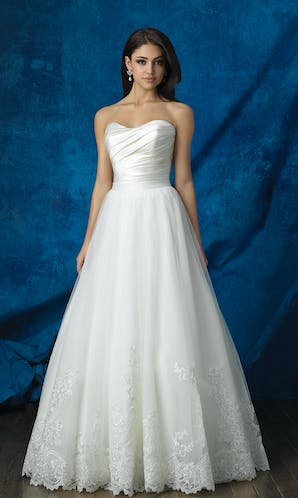 Allure Bridals 2017 Mix & Match Bridal Skirt: A2012