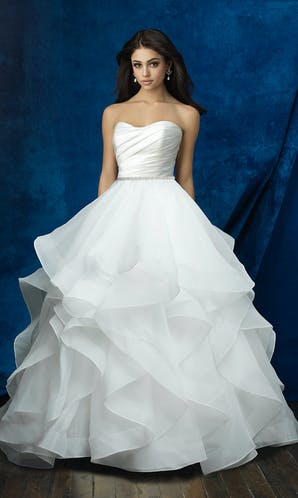 Allure Bridals 2017 Mix & Match Bridal Skirt: A2013
