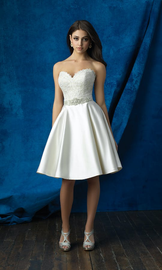 Allure Bridals 2017 Mix & Match Bridal Skirt: A2006