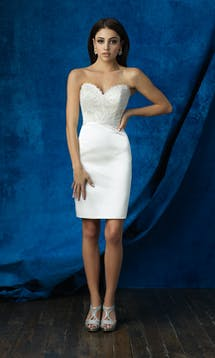 Allure Bridals 2017 Mix & Match Bridal Skirt: A2007 #7