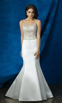 Allure Bridals 2017 Mix & Match Bridal Skirt: A2009 #9