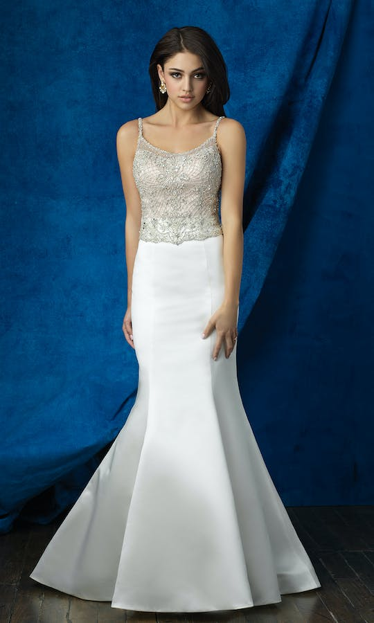 Allure Bridals 2017 Mix & Match Bridal Skirt: A2009