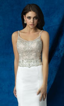 Allure Bridals 2017 Mix & Match Bridal Bodice: A2002 #3