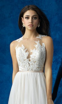 Allure Bridals 2017 Mix & Match Bridal Bodice: A2004 #5