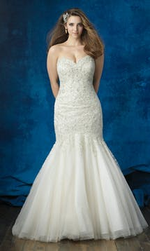 Allure Bridals 2017 Women W381 #1