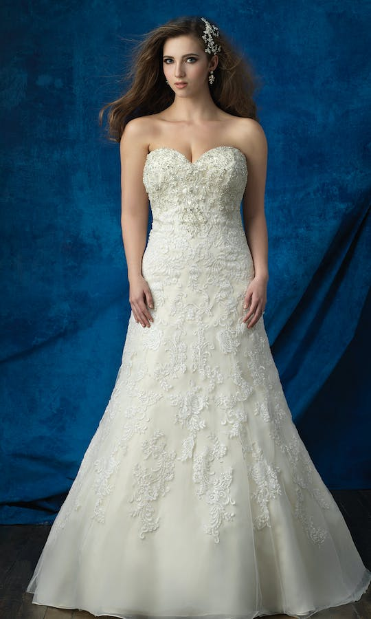 Allure Bridals 2017 Women W382